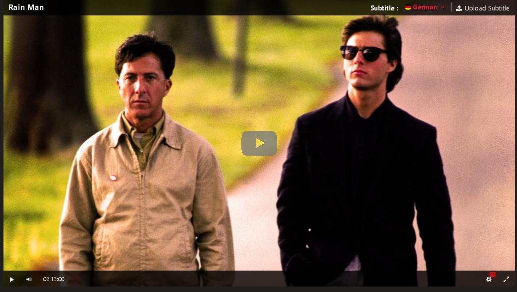 Rain Man Ganzer Film Deutsch
