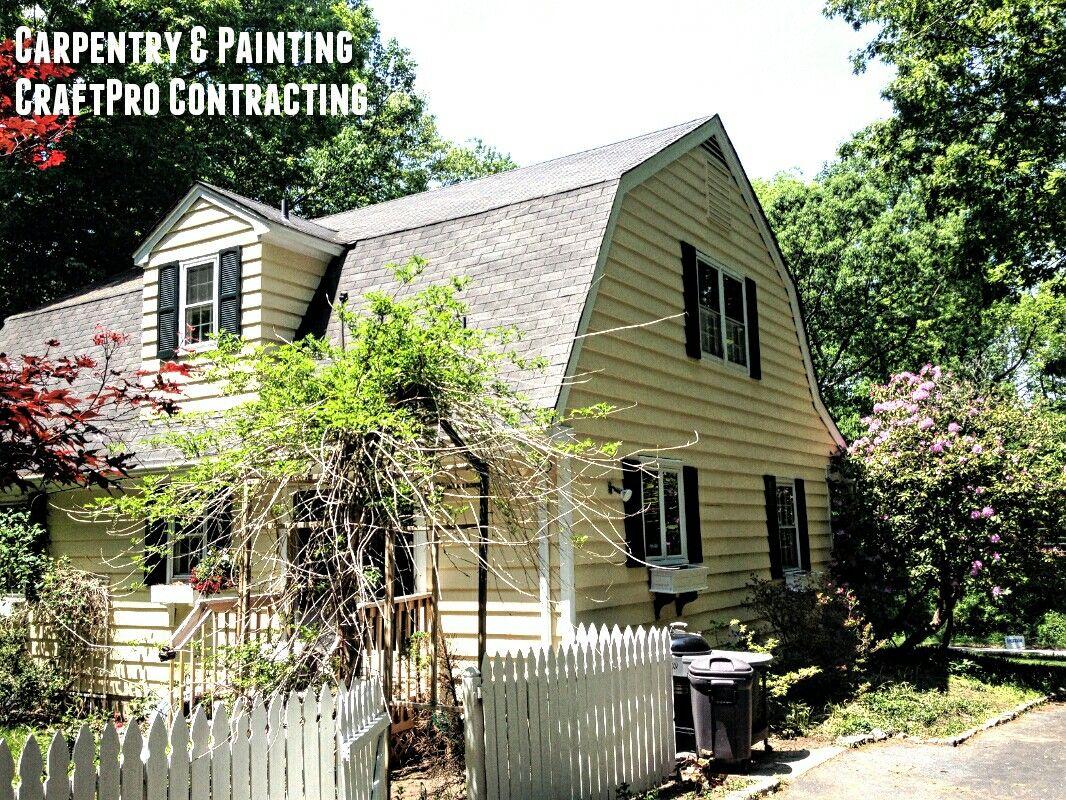 Exterior Paint Job Carpentry In Chester Nj 07930 Exterior Paint Cedar Clapboard Siding Clapboard Siding