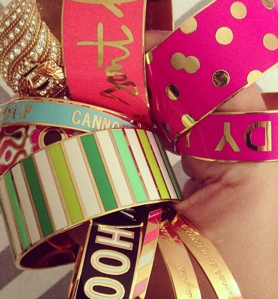 Kate Spade Collection of Arm Candy