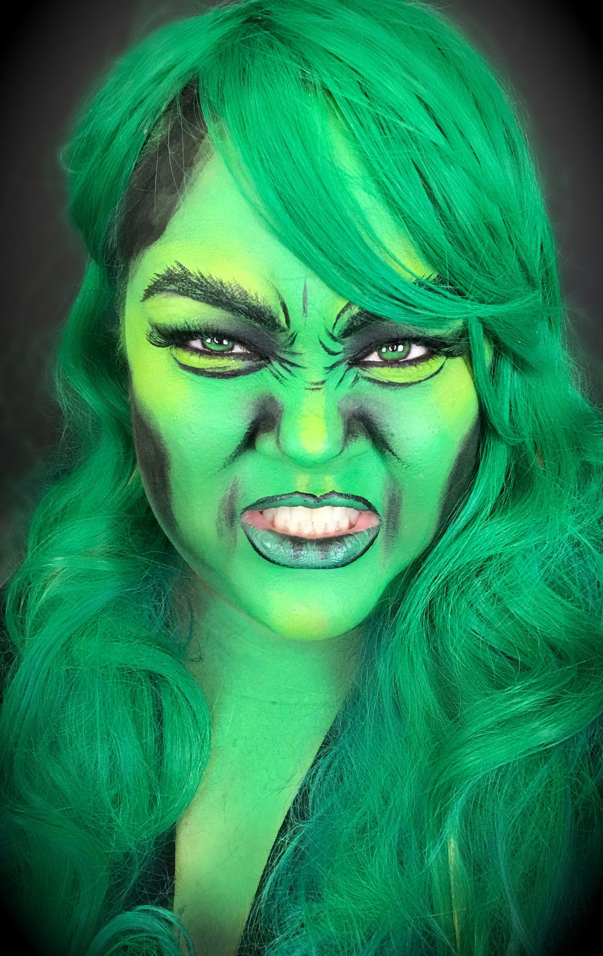 Hulksmash Makeup Facepaintingmakeup Beautyaddicts Faceandbodypainting Superheros Facepainting Hulk Hulk Face Painting Superhero Pop Art Pop Art Makeup