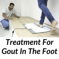 Treatment For Gout In The Foot