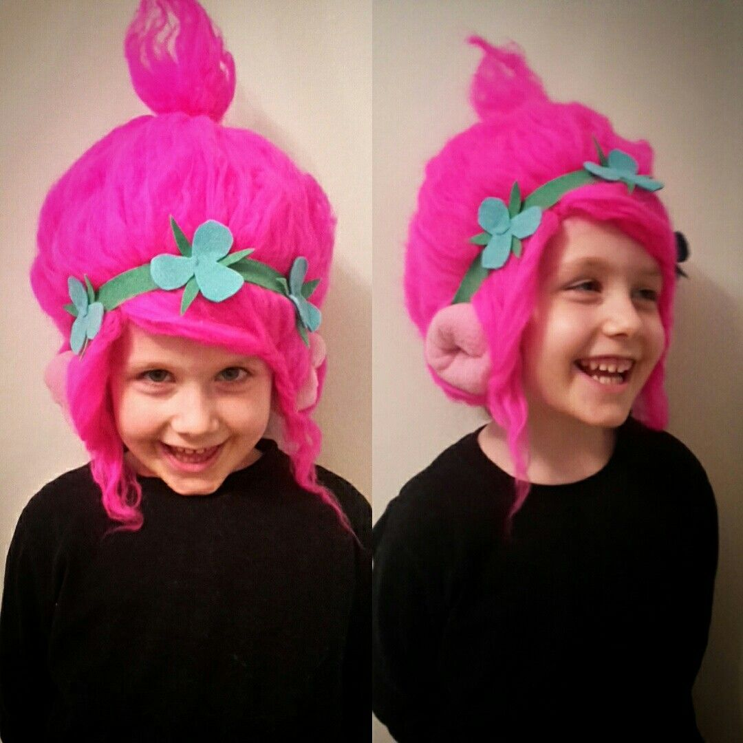 My very own poppy troll crochet handmade hat darn yarn my very own poppy troll crochet handmade hat solutioingenieria Image collections
