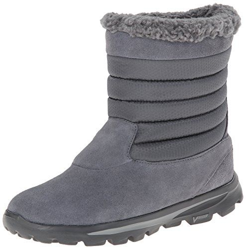 9076f8d40bf Skechers Performance Women's Go Walk Move Snow Boot,Charcoal,8.5 M ...