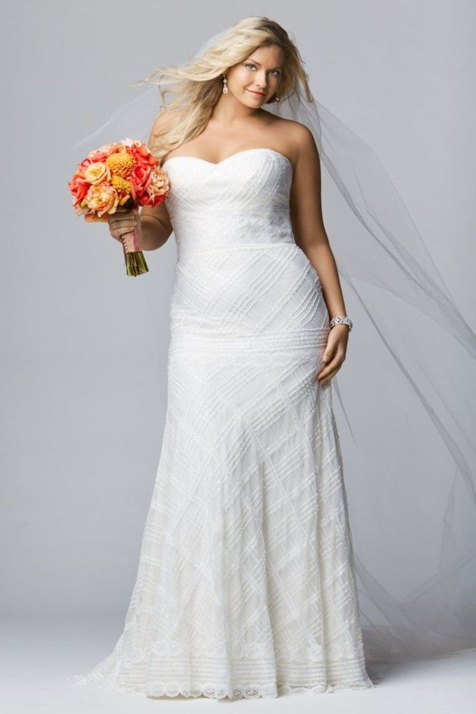 There are many charming plus size bridal dresses - posted by yuki sin at www.facenet.net.nz