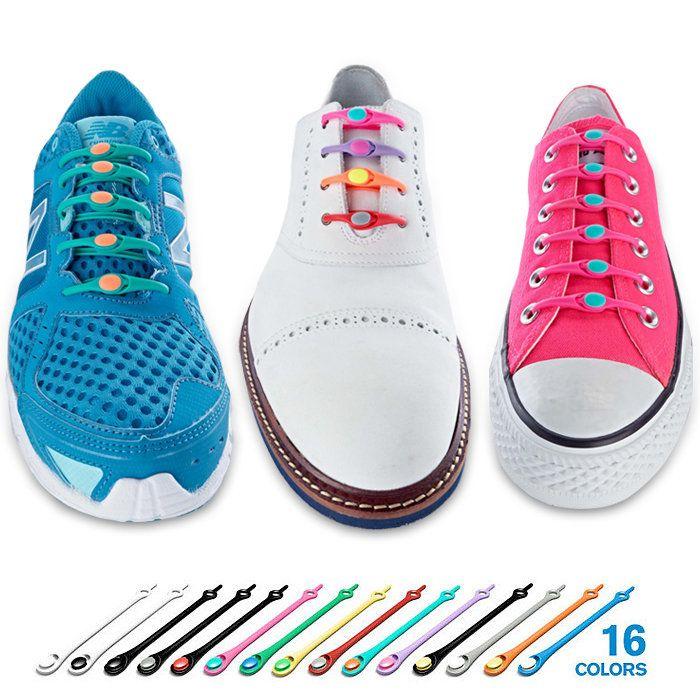 Elastic shoe laces, Shoe laces