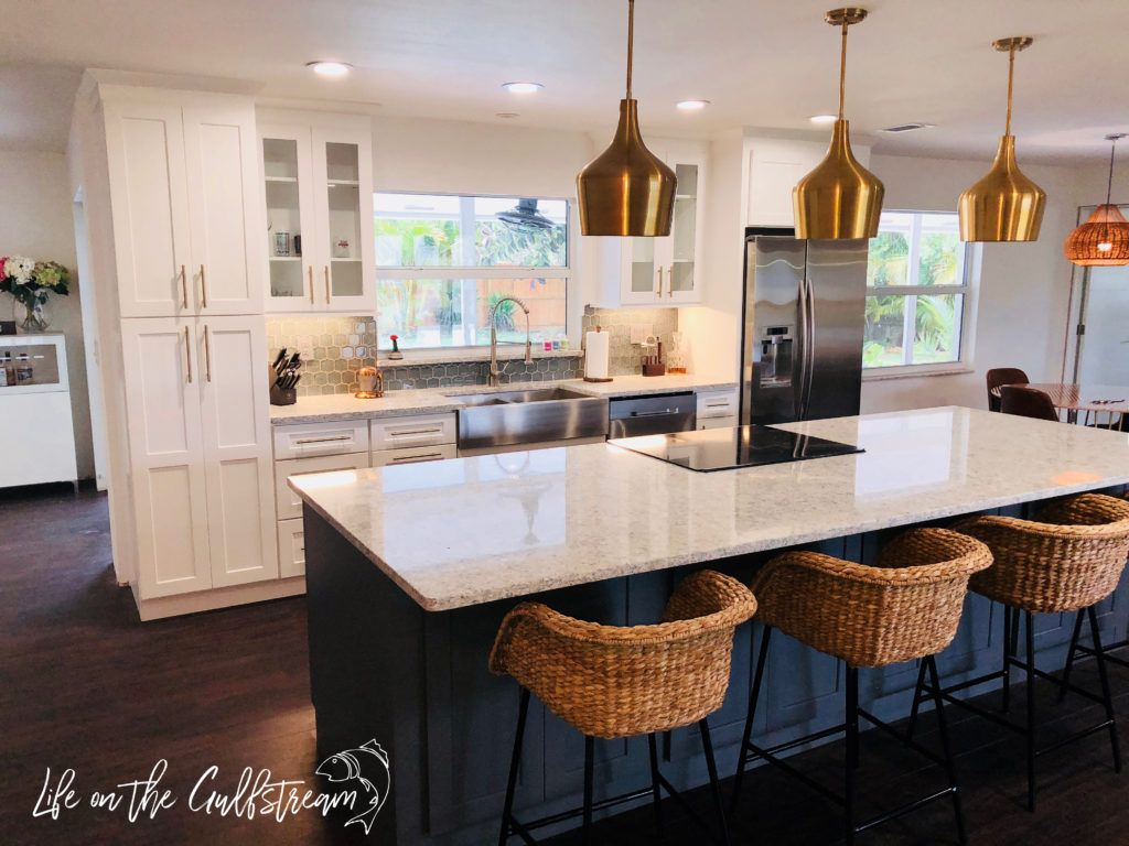 Hard work pays off! -Galley Kitchen to Open Concept - Life ...