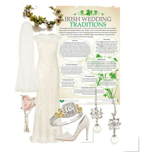 Irish Wedding Traditions By Theirishjewelrycompany On Polyvore Featuring Phase Eight Vince And Rime Arodaky