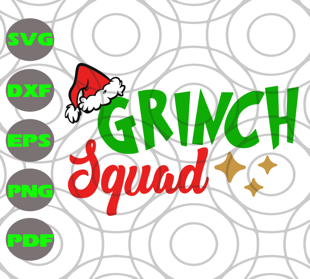 Grinch squad SVG Files For Silhouette, Files For Cricut