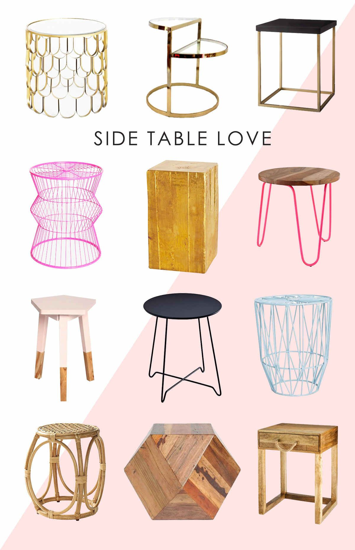 Check Out Yesterdayu0027s Post On BHG Style Spotters For A Roundup Of Some  Really Cute Side Tables. Pairing Your Rocker Or Glider With A Side T.