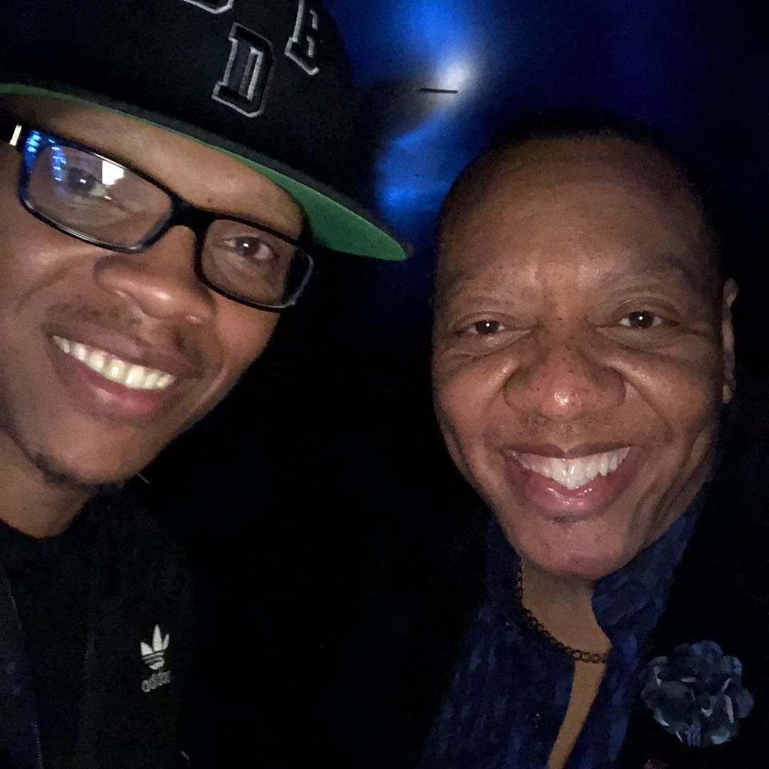 Photo Of Ronnie Devoe Of New Edition And Art Terrell Of Kiss 104 1