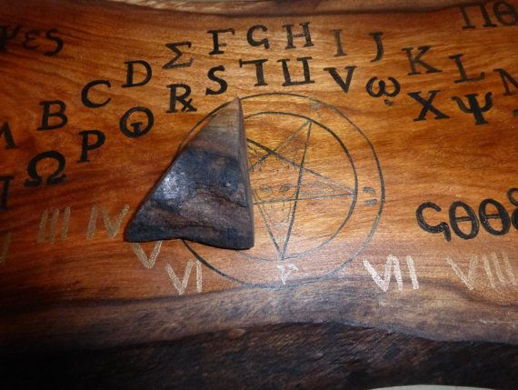 Ouija Board Goat Head Pentagram Pagan Symbol With By Andywa78 My