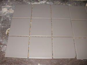 6 Sq M Grey Mosaic Ceramic Floor Tiles Cinza Chumbo 300mm X 300mm