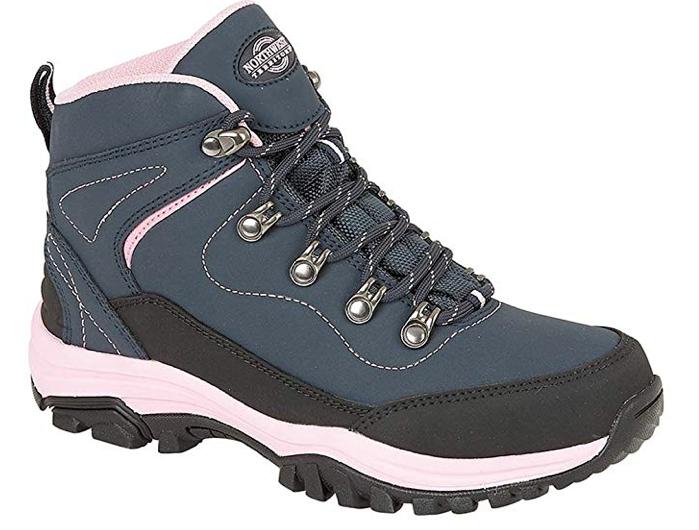e1385a36b9b Northwest Territory Ladies Leather Lightweight Waterproof Walking ...