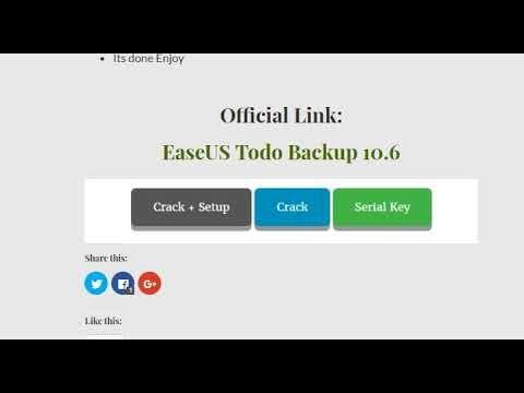 easeus todo backup serial key