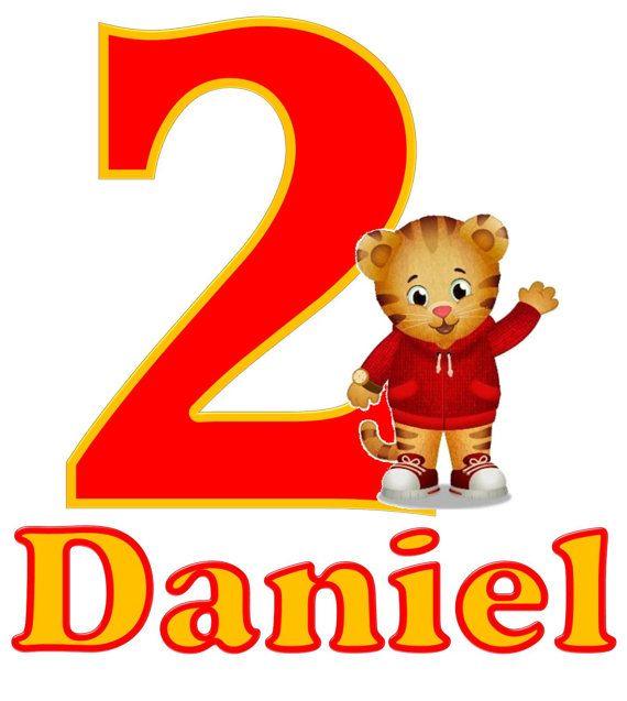 Daniel Tiger Birthday Shirt 2nd Parties Wishes Boy
