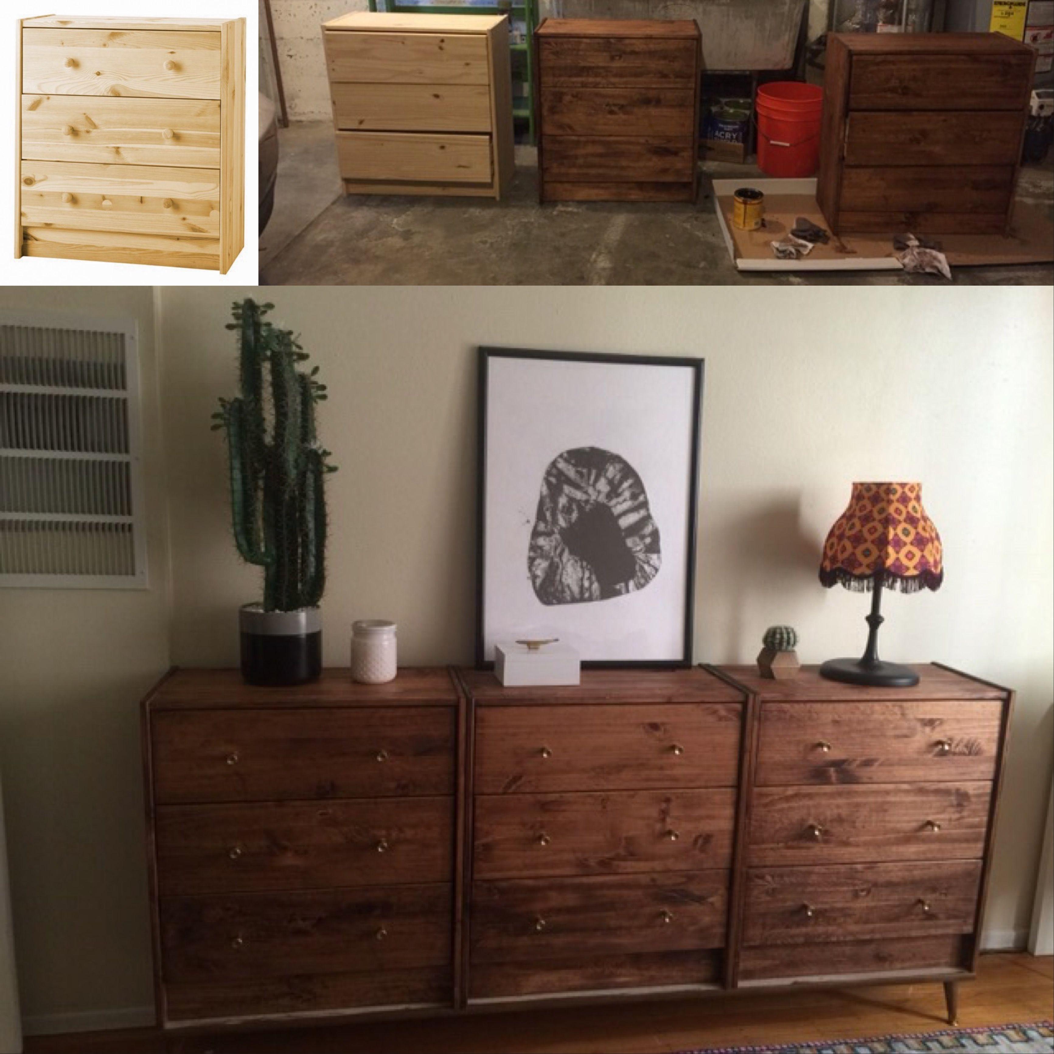 My Diy Ikea Rast Dresser Project 3 Ikea Rast Dressers Minwax