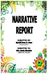 Educational Plan Tour A Narrative School Forms Report