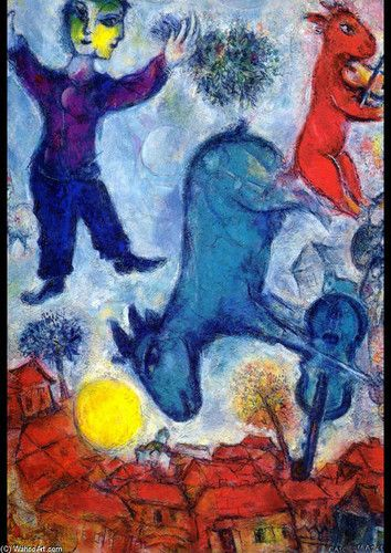 Fiddler On The Roof Brings The Chagall To Stratford Marc Chagall Chagall Paintings Art