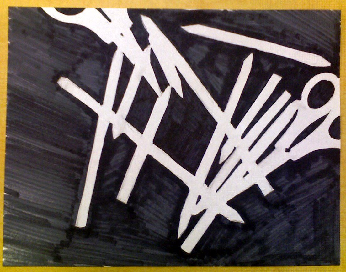Harvest Artists Blog: Drawing Lessons - Negative Space   Art ...