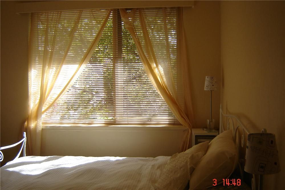 Sun through yellow curtains....