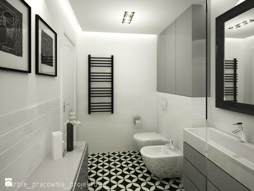 łazienka Styl Eklektyczny Zdjęcie Od