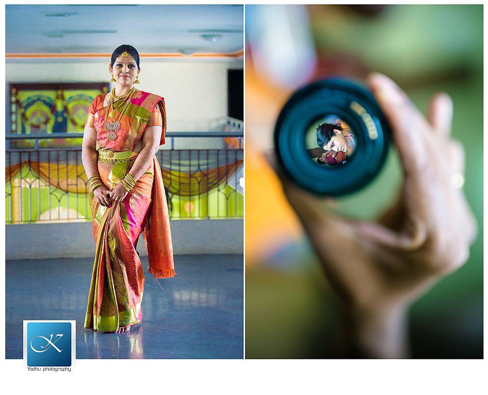 Chennai Candid Wedding photographer ~ Anu & Santhosh Wedding stories | Yadhu Photography