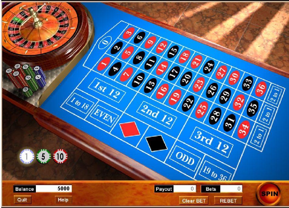 онлайн флеш рулетка игра