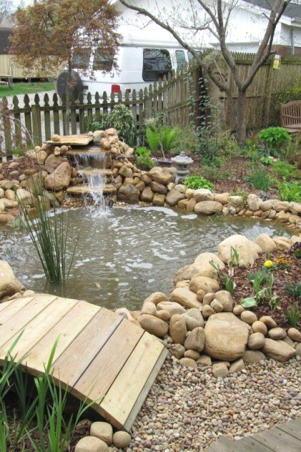 29 Beautiful Garden Pond Designs You Can Create To Accent ...