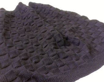 Knit pattern navy blue knit checkered baby blanket pattern baby knit pattern navy blue knit checkered baby blanket pattern dt1010fo