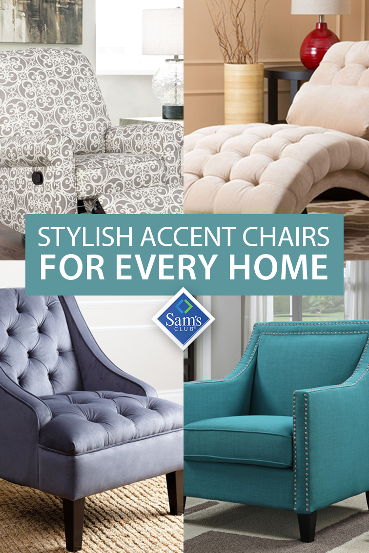Add A Hint Of Style To Your Home With A Stylish Accent Chair From
