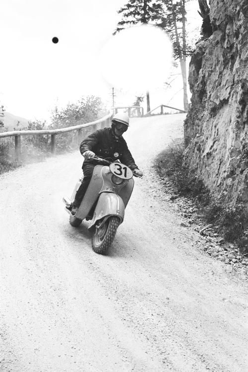 Osa scooter- 1960 Six Day Trial | Scooter | Vespa scooters ...
