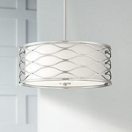 Brushed Nickel Pendant Light
