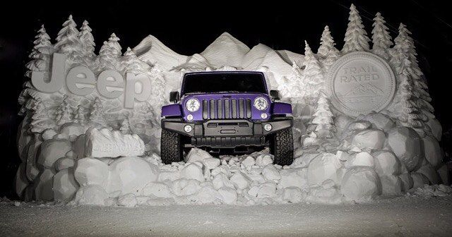 A Mountain Of Snow Is No Match For The Jeep Wrangler Backcountry