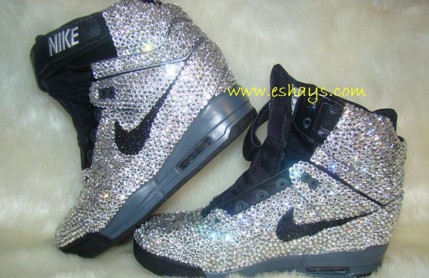 60f72a7513f8 Nike Heels · Sneaker Boots ·  revolution  Sky  hi  nikedunks  dunks  skyhi   wedges  wedgesneakers