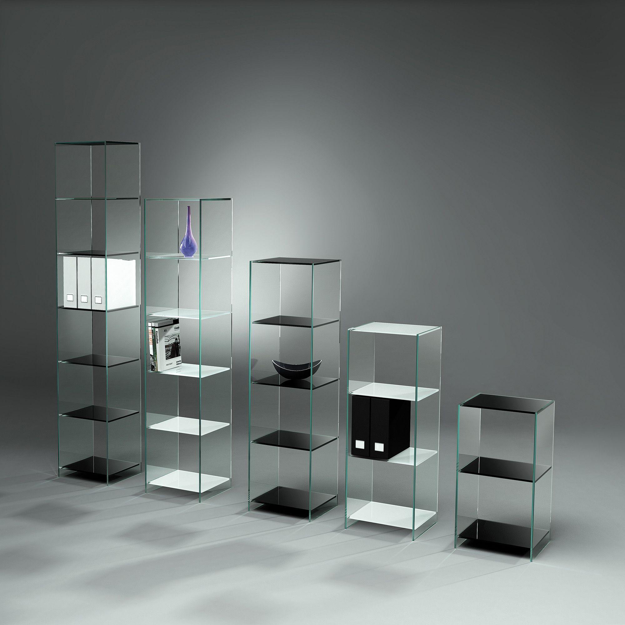 Tourelle Office Glasregale Diese Ganzglasregale In Besonders Hellem Optiwhite Glas Mit Den Unterseitig Lack Glasregal Regal Und Vitrine