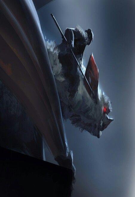 Bat rider | Beast in 2019 | Fantasy artwork, Fantasy art, Art
