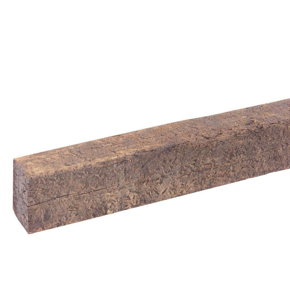 null Used Railroad Tie-Cresote Treated (Common: 7 in. x 9 in. x 8 ft ...