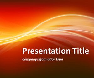 Red Abstract Powerpoint Template Is Another Variant Of Powerpoint