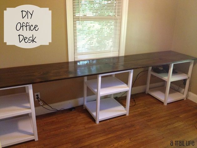 Full Tutorial To Build A Diy Office Desk Guest Room In