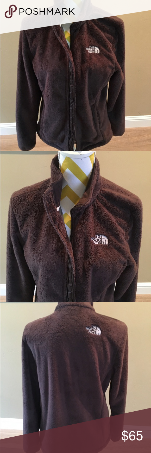 Women's North Face Ostia Fleece Jacket Women's North Face Osita fleece front zip up jacket. Chocolate brown. Well taken care of. Great condition. Smoke free home. North Face Jackets & Coats Puffers