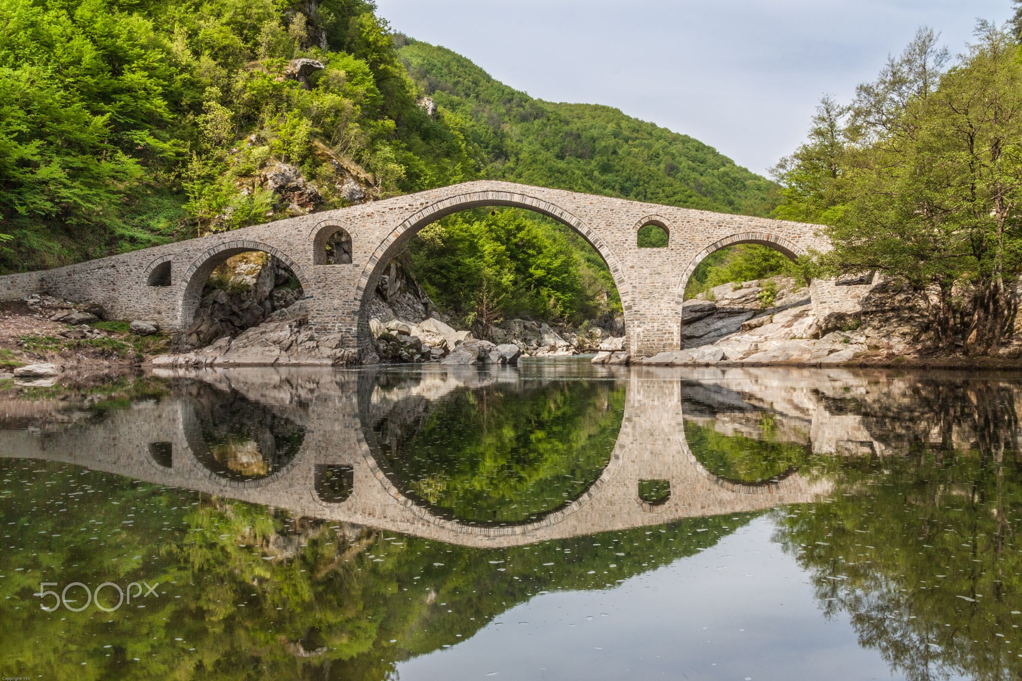 Devil's Bridge Reflections - null