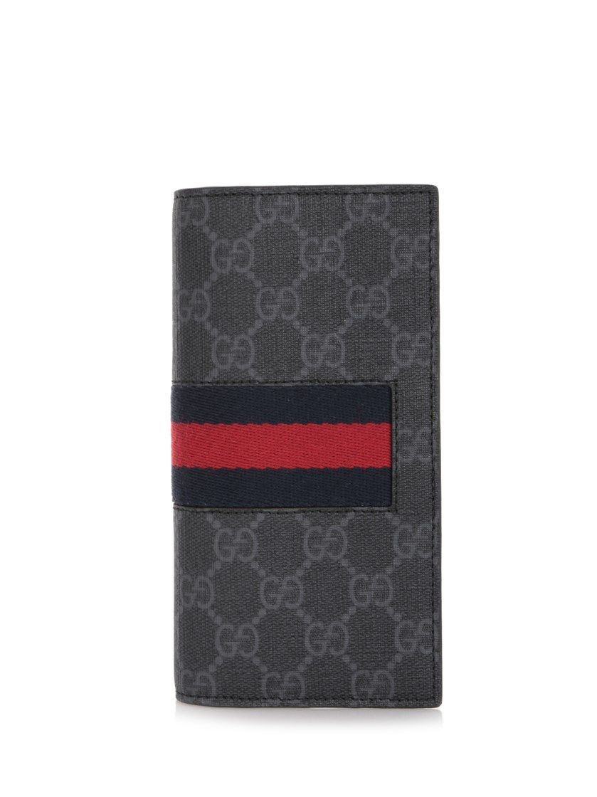 9fe39a9c4acf69 GUCCI 'Web Gg' Long Wallet. #gucci #wallets | Gucci Men