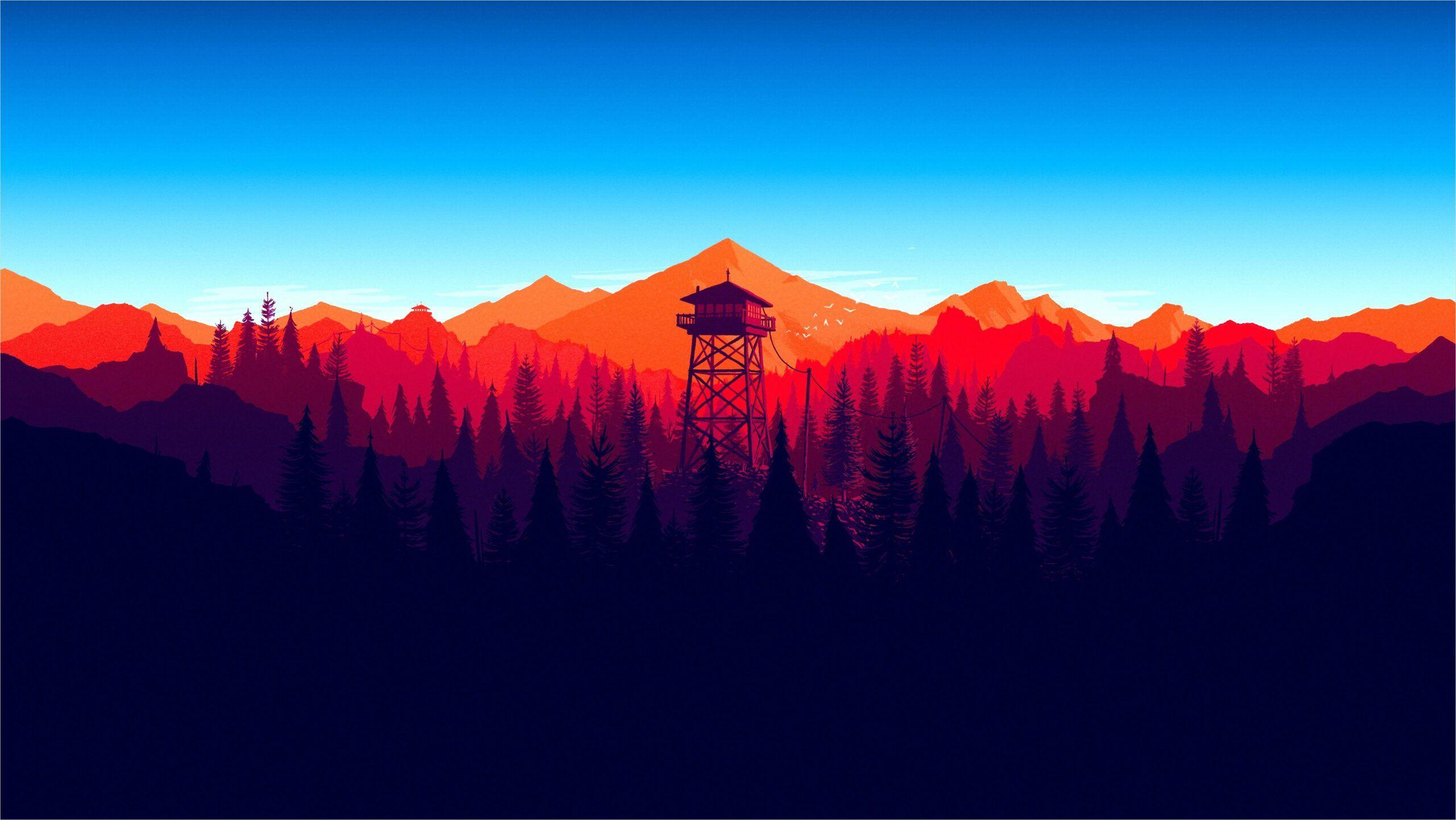 4k Minimalist Forest Wallpaper In 2020 Wallpaper Pc Wallpaper Forest Wallpaper