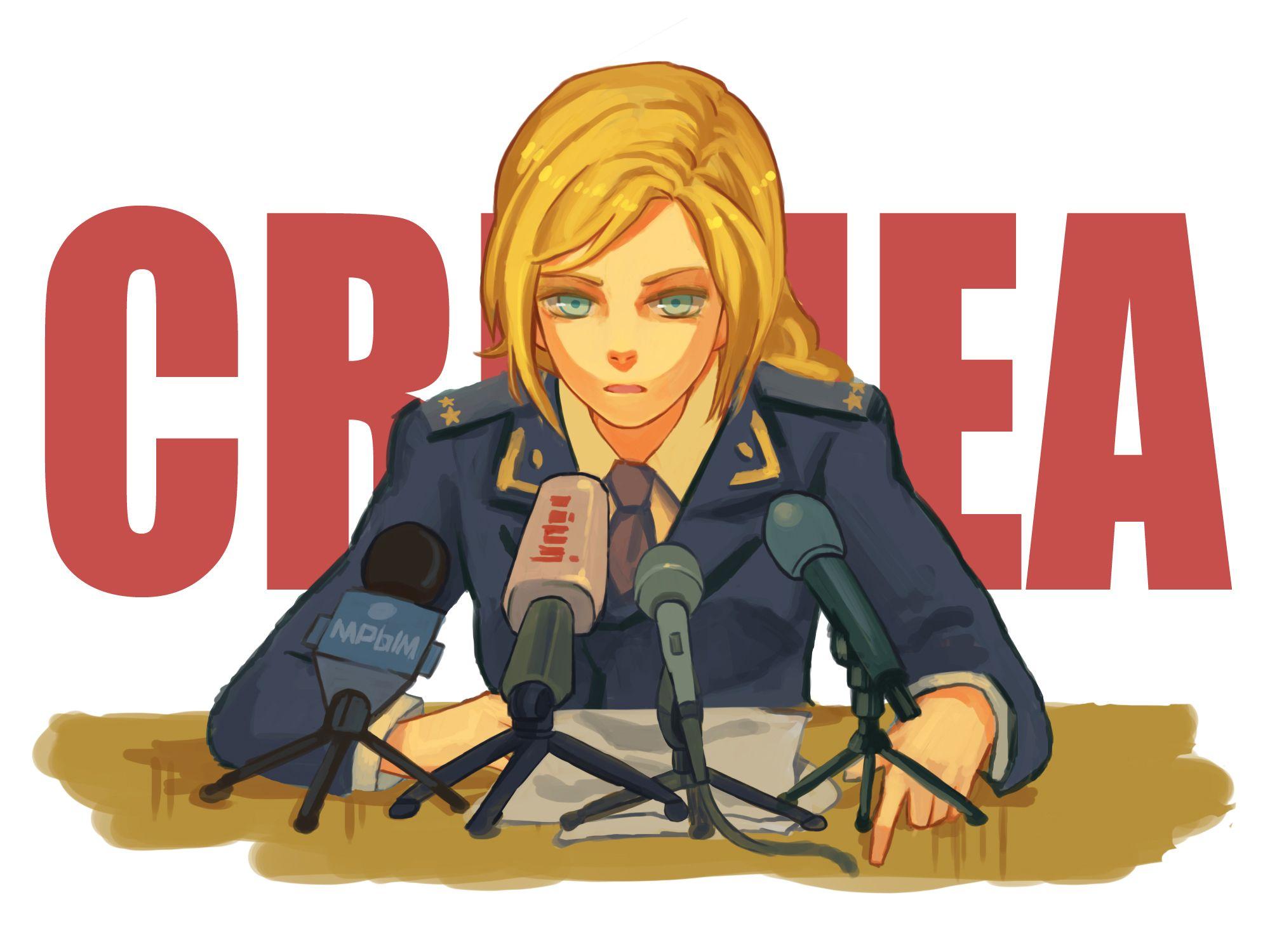 Image result for Natalia Poklonskaya anime Dessin manga