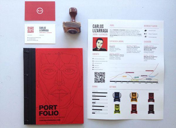 Book Portfolio by Carlos Lizarraga, via Behance Diseño Pinterest