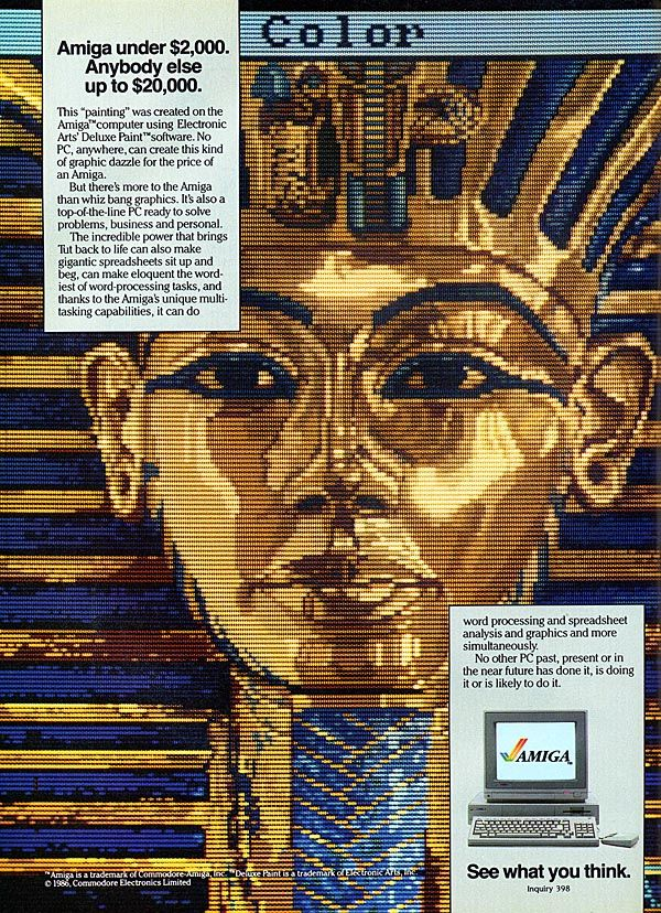 Amiga, deluxe paint, a great piece of software Old Computers - spreadsheet compare 2013 64 bit