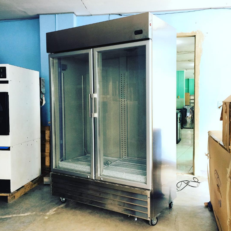 Lg 1200dss 2 Glass Door Chiller With Stainless Steel Body Now Available Or Contact Chris Store Manager 09173012331 09 Glass Chiller Glass Door Locker Storage