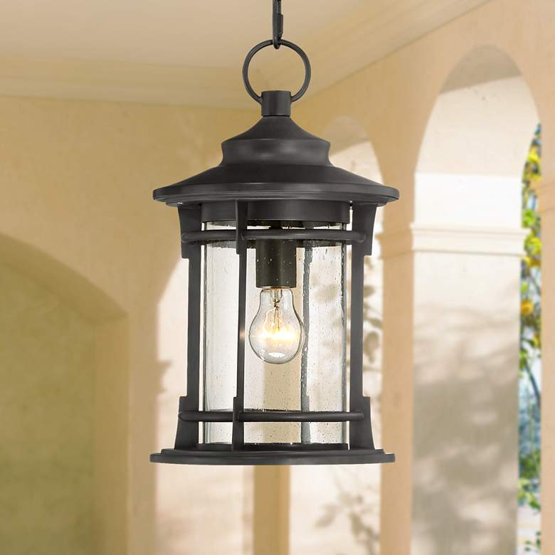Grenville 16 3 4 High Bronze Outdoor Hanging Light 33p91