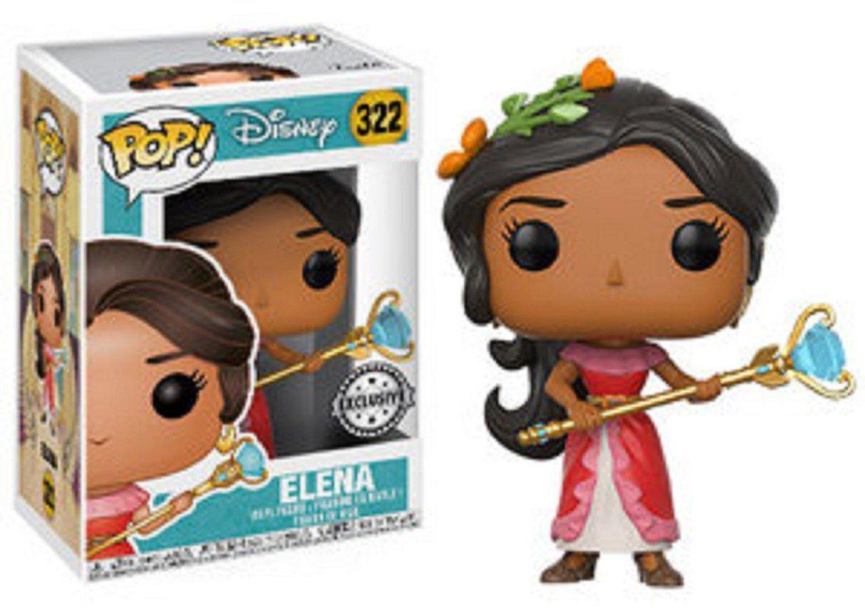 Funko Pop Disney Elena Of Avalor 3 75 Inch Vinyl Figure Elena Funko Pop Disney Pop Toys Funko Pop