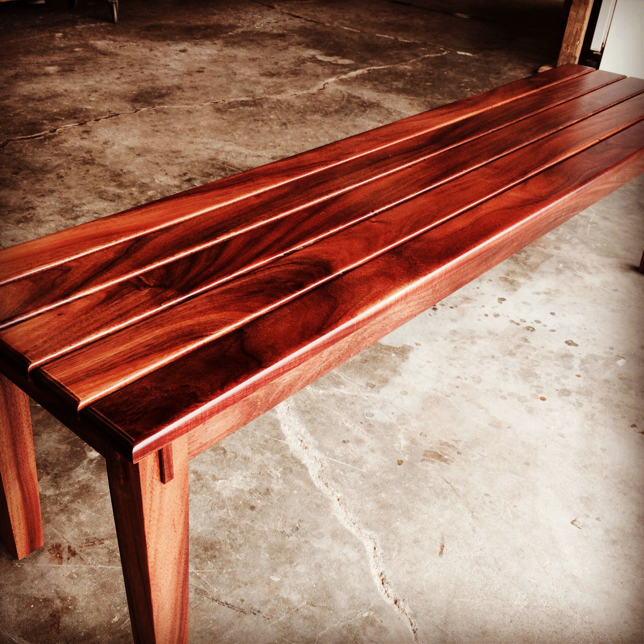 The Ultimate Koa Bench Made By Our Craftsmen